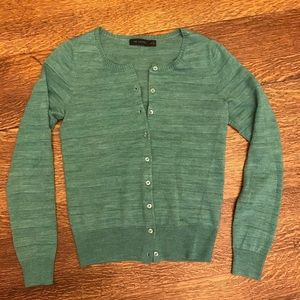 Limited - Heather Green Cardigan